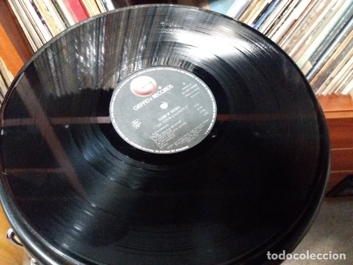 Discos de vinilo: GUNS N'ROSES - USE YOUR ILLUSION II - DOBLE LP - Foto 6 - 141899666