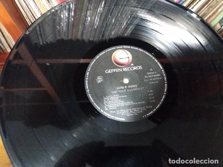 Discos de vinilo: GUNS N'ROSES - USE YOUR ILLUSION II - DOBLE LP - Foto 7 - 141899666