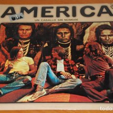 Discos de vinilo: AMERICA : UN CABALLO SIN NOMBRE.LP.ORIGINAL WB.PRIMERA EDICION MADE IN SPAIN - 1972 . NM / EX .. Lote 154508274