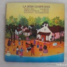 Discos de vinilo: LA MISA CAMPESINA. MIGUEL BOSE, ANA BELEN , ETC. LP EDICION ESPAÑOLA 1979 CBS. Lote 154524414