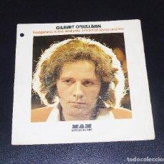 Discos de vinilo: GILBERT O´SULLIVAN - ---HAPPINESS IS ME AND YOU ----ORIGINAL MO 1400 --AÑO 1974. Lote 154526698