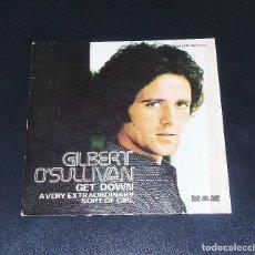 Discos de vinilo: GILBERT O´SULLIVAN ---- --GET DOWN ---- ORIGINAL AÑO 1973 ----MO 1332 - --A ESTRENAR. Lote 154526858