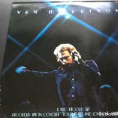 Discos de vinilo: VAN MORRISON- A TWO RECORDS SET. RECORDED LIVE IN CONCERT LOS ÁNGELES AND LONDON SUMMER 1973. Lote 190395668