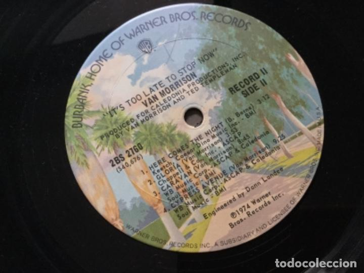 Discos de vinilo: Van Morrison- a two Records set. Recorded live in concert los Ángeles and london Summer 1973 - Foto 4 - 190395668