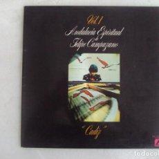 Discos de vinilo: ANDALUCIA ESPIRITUAL DE FELIPE CAMPUZANO, VOL.1. CADIZ. LP EDICION ESPAÑOLA 1977 MG MOVIEGRAF. Lote 154531194
