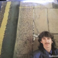 Discos de vinilo: GEORGE HARRISON - SOMEWHERE IN ENGLAND . Lote 154531398