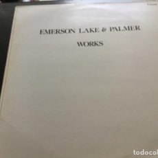 Discos de vinilo: EMERSON LAKE AND PALMER- WORKS- VOL 2. Lote 154531662
