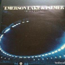 Discos de vinilo: EMERSON LAKE AND PARKER - IN CONCERT . Lote 154532474