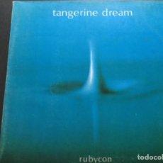 Discos de vinilo: TANGERINE DREAM - RUBYCON . Lote 154533742