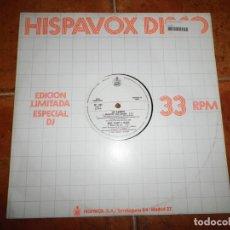 Discos de vinilo: LEIF GARRETT PEDRO MARIN RADIO FUTURA MIKE TRAMP & MABEL HISPAVOX MAXI SINGLE VINILO PROMO. Lote 154534658
