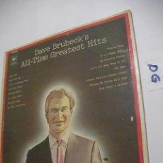 Discos de vinilo: ANTIGUO DISCO LP VINILO - DAVE BRUBECK´S. Lote 154534706