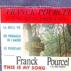 Discos de vinilo: 2 SINGLES DE POURCEL Y SU ORQUESTA. Lote 154537578