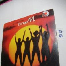 Discos de vinilo: ANTIGUO DISCO LP VINILO - BONEY M.. Lote 154538638
