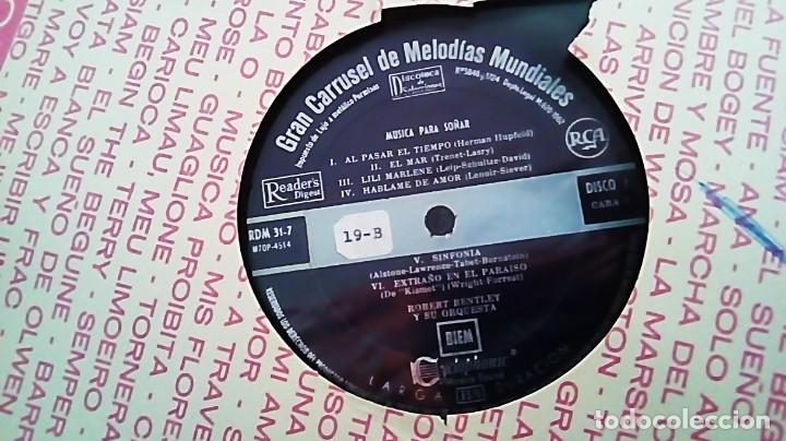 LP DEL AÑO 1962 DE MELODÍAS MUNDIALES PARA SOÑAR (Música - Discos - LP Vinilo - Orquestas)