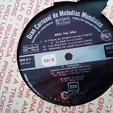 Discos de vinilo: LP DEL AÑO 1962 DE MELODÍAS MUNDIALES PARA SOÑAR . Lote 154538778