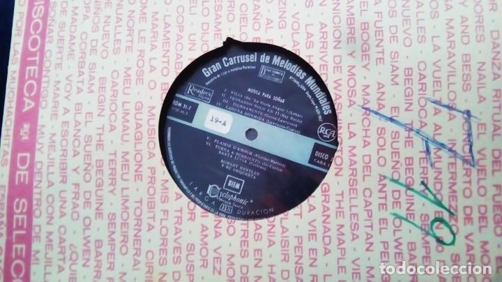Discos de vinilo: LP DEL AÑO 1962 DE MELODÍAS MUNDIALES PARA SOÑAR - Foto 2 - 154538778