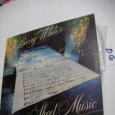Discos de vinilo: ANTIGUO DISCO LP VINILO - BARRY WHITES. Lote 154539246