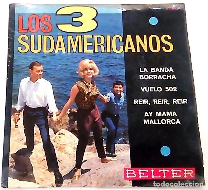 SINGLE DE LOS 3 SUDAMERICANOS 1966 (Música - Discos - Singles Vinilo - Solistas Españoles de los 50 y 60)