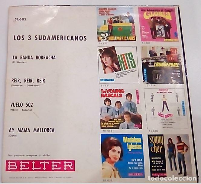 Discos de vinilo: SINGLE DE LOS 3 SUDAMERICANOS 1966 - Foto 2 - 154539758