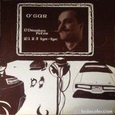 Discos de vinilo: O'GAR – DRUNKEN PETER / 1,2,3, BYE BYE - MAXI-SINGLE SPAIN 1985. Lote 210972249
