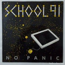 Discos de vinilo: MAXI / NO PANIC SCHOOL 91 / 1991. Lote 154567750