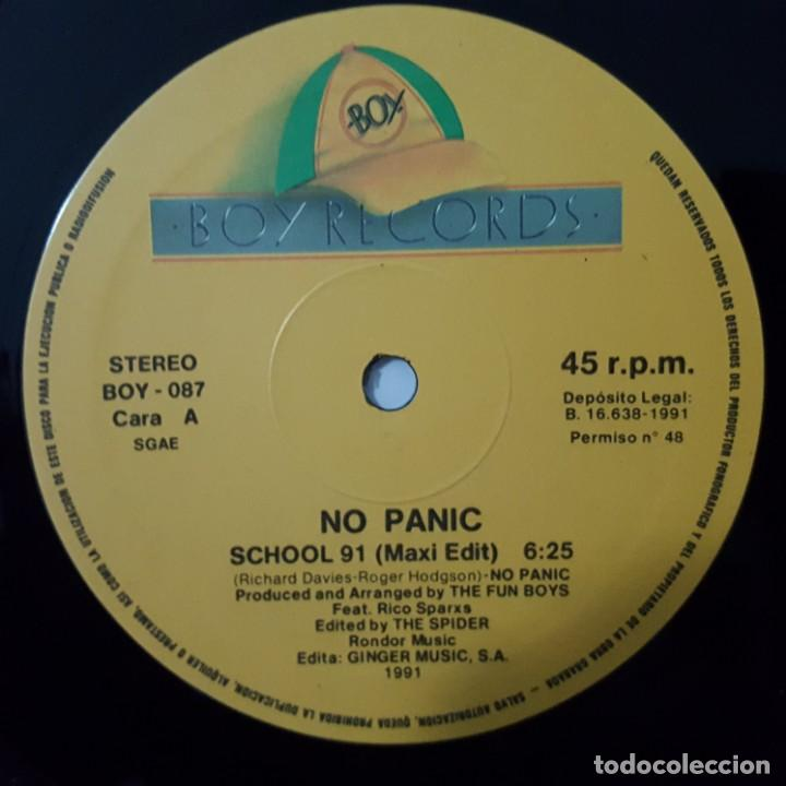 Discos de vinilo: MAXI / NO PANIC SCHOOL 91 / 1991 - Foto 3 - 154567750