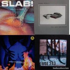 Discos de vinilo: LOTE 4 LPS GRUPOS DE MUSICA INDUSTRIAL, ELECTRONICA, ROCK. Lote 154571826