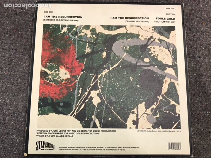 Discos de vinilo: The Stone Roses ?– I Am The Resurrection - Foto 3 - 154573137