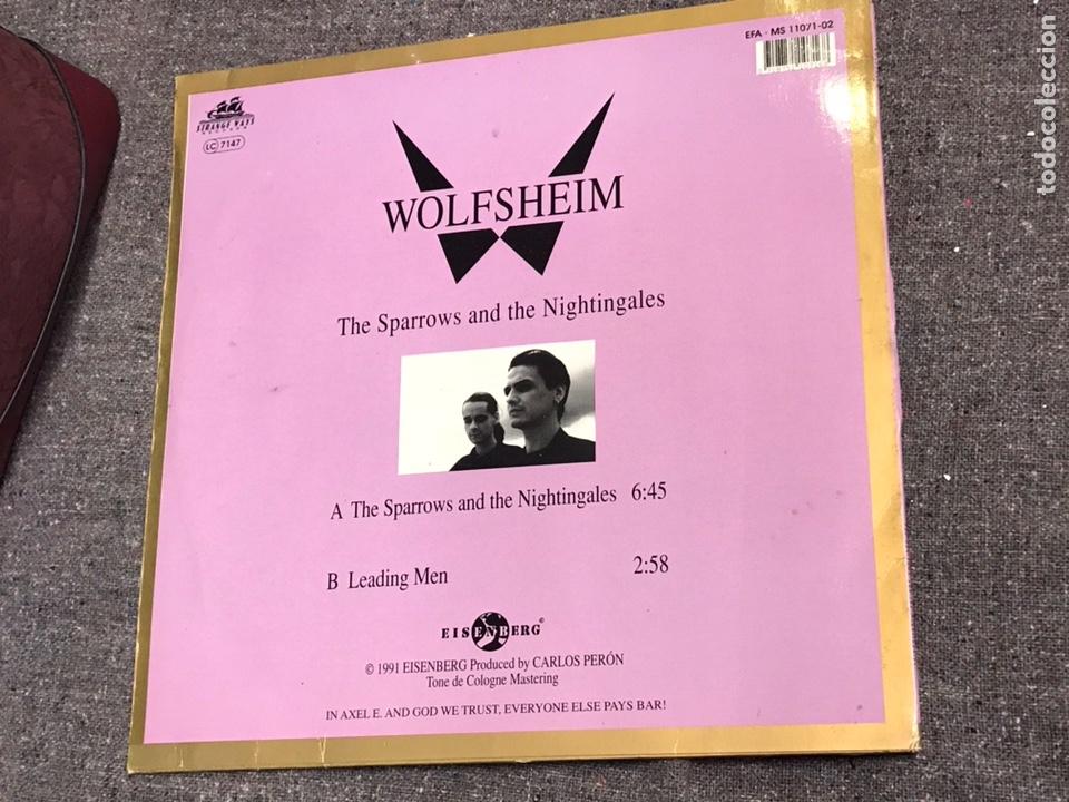 WOLFSHEIM ?– THE SPARROWS AND THE NIGHTINGALES (Música - Discos de Vinilo - Maxi Singles - Electrónica, Avantgarde y Experimental)