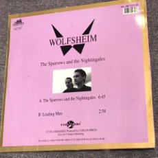 Discos de vinilo: WOLFSHEIM ?– THE SPARROWS AND THE NIGHTINGALES. Lote 154573313