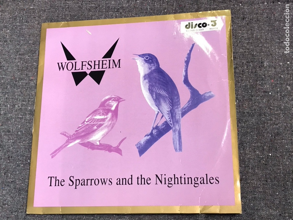 Discos de vinilo: Wolfsheim ?– The Sparrows And The Nightingales - Foto 2 - 203829201