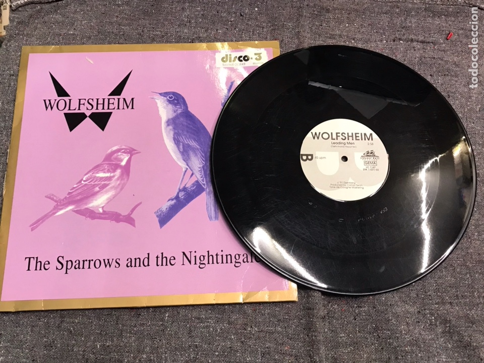 Discos de vinilo: Wolfsheim ?– The Sparrows And The Nightingales - Foto 4 - 203829201