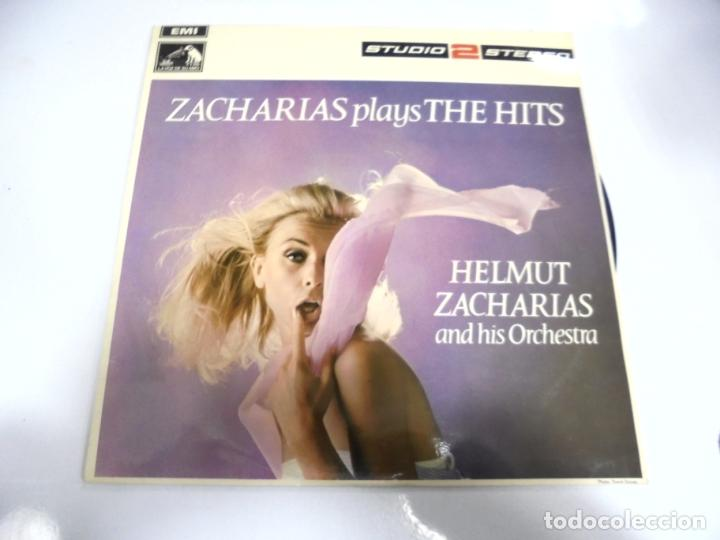 LP. ZACHARIAS PLAYS THE HITS. HELMUT ZACHARIAS AND HIS ORCHESTRA. EMI. 1969 (Música - Discos de Vinilo - EPs - Clásica, Ópera, Zarzuela y Marchas	)