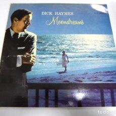 Discos de vinilo: LP. DICK HAYMES. MOONDREAMS. 1982. EMI. Lote 154592886