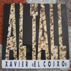 Discos de vinilo: LP. AL TALL. XAVIER EL COIXO. LETRAS. MUY BUENA CONSERVACION.. Lote 154599538