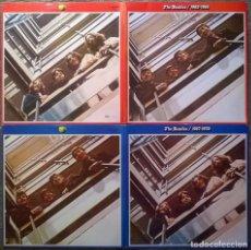 Discos de vinilo: THE BEATLES. 1962-1966/ 1967-1970. EMI APPLE (1A 184- 05307-10), HOLLAND 1973 4 LP COMPLETO DE 1980. Lote 154600914