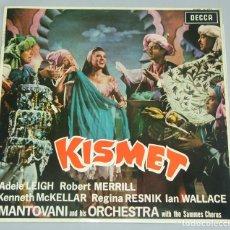 Discos de vinilo: KISMET - MANTOVANI AND HIS ORCHESTRA LP DECCA 1964 MONO. Lote 154610950