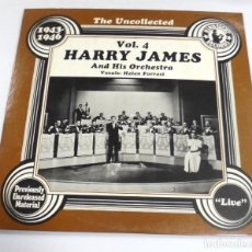 Discos de vinilo: LP. HARRY JAMES AND HIS ORCHESTRA. VOL.4. THE UNCOLLECTED. 1943 - 1946. HINDSIGHT RECORDS 1978. Lote 154613802