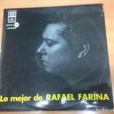 Discos de vinilo: LP LO MEJOR DE RAFAEL FARINA EDITADO POR EMI /REGAL 1972. Lote 154624182