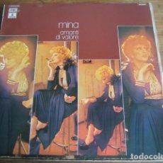 Disques de vinyle: MINA - AMANTI DI VALORE *** LP ESPAÑOL 1974 GRAN ESTADO!. Lote 154626450