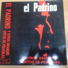 Discos de vinilo: LP EL PADRINO Y OTROS GRANDES EXITOS DE PELICULAS EDITADO POR PALOBAL COMO NUEVO . Lote 154634118