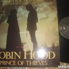 Discos de vinilo: ROBIN HOOD, PRINCE OF THIEVES - MÚSICA DE BRYAN ADAMS - BANDA SONORA ORIGINAL - MAXI SINGLE 4 TEMAS. Lote 155756341