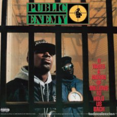 Discos de vinilo: PUBLIC ENEMY - IT TAKES A NATION OF MILLIONS TO HOLD US BACK [REEDICIÓN 2013]. Lote 154641010