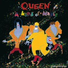 Discos de vinilo: QUEEN - A KIND OF MAGIC [REEDICIÓN 180GRAMS]. Lote 154642134