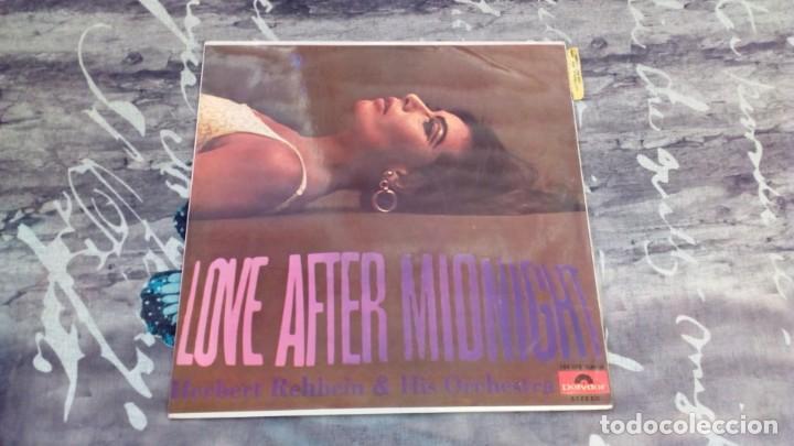HERBERT REHBEIN & HIS ORCHESTRA – LOVE AFTER MIDNIGHT - POLYDOR – 184 078 - 1967 (Música - Discos - LP Vinilo - Orquestas)