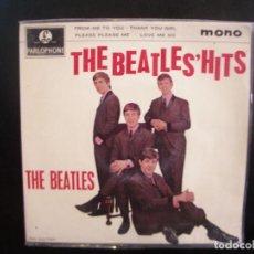 Discos de vinilo: THE BEATLES- THE BEATLES HITS. EP.. Lote 154645406