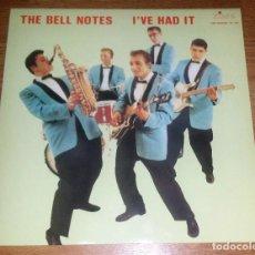 Discos de vinilo: THE BELL NOTES LP ORIG. TIME RECORDS 1987- SURF, ROCK&ROLL,ROCKABILLY * NUEVO*(COMPRA MINIMA 15 EUR). Lote 154646522