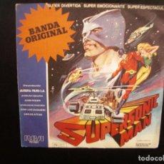 Discos de vinilo: SUPERSONIC MAN- BSO. SINGLE.. Lote 154646670