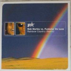 Discos de vinilo: BOB MARLEY VS. FUNKSTAR DE LUXE. RAINBOW COUNTRY (REMIX ). MAXI SINGLE DINAMARCA 5 TEMAS. Lote 154655830