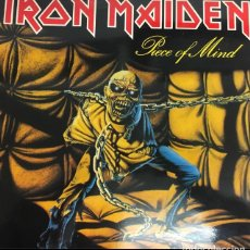 Discos de vinilo: VINILO IRON MAIDEN PIECE OF MIND 1983. Lote 154680068